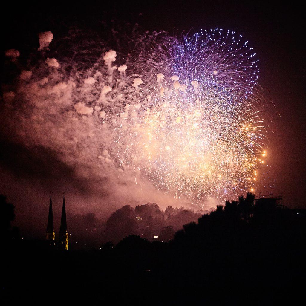 Feuerwerk Bielefeld 2016
