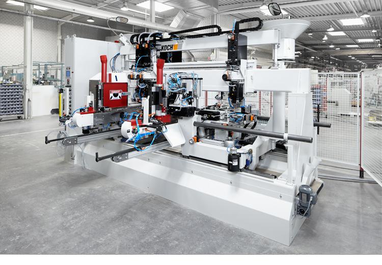 Eine Industriefotografie einer Maschine